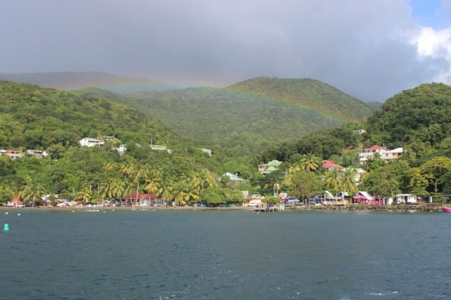 Plage Malendure on Guadeloupe - visited during month nineteen of digital nomad life
