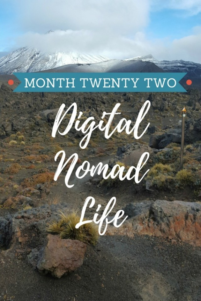 Month twenty two of digital nomad life