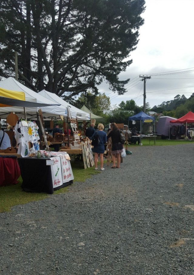 Matakana Farmers Market in North Auckland - visited during month twenty two of digital nomad life