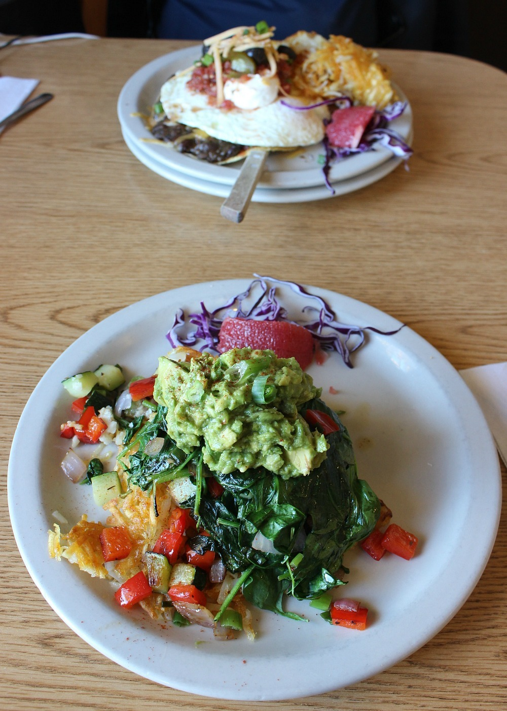 Eating vegetarian is a great way to save money for travel