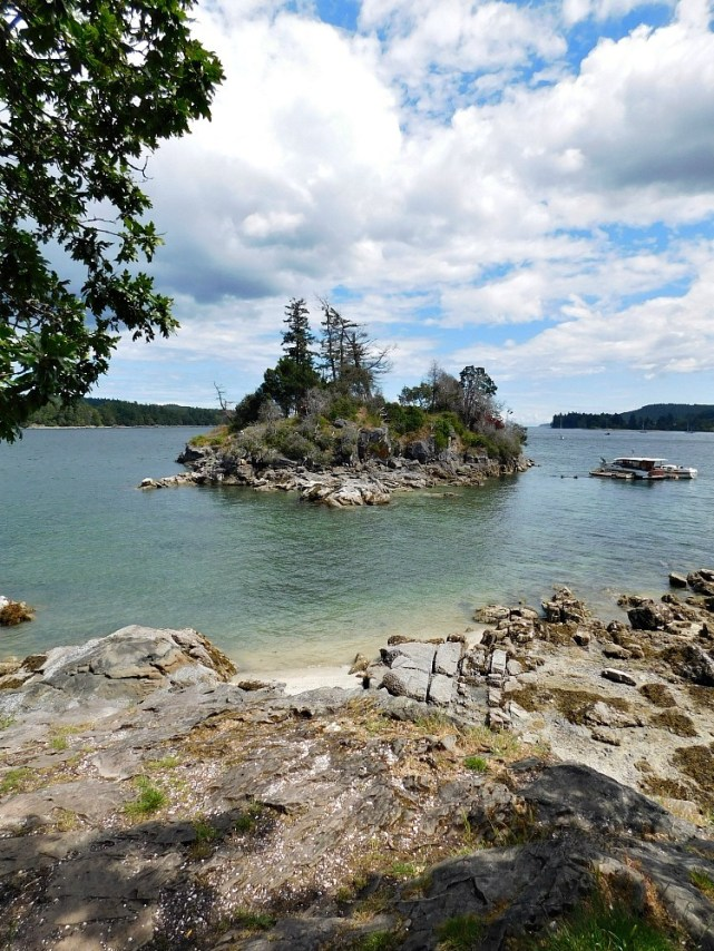 Small island off Salt Spring Island in Canada - visited during month twenty four of Digital Nomad life