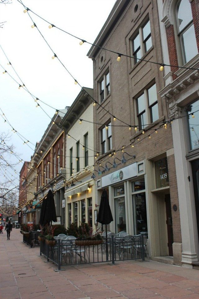 Visiting Larimer Square in Denver - part of a 3 days in Denver Itinerary