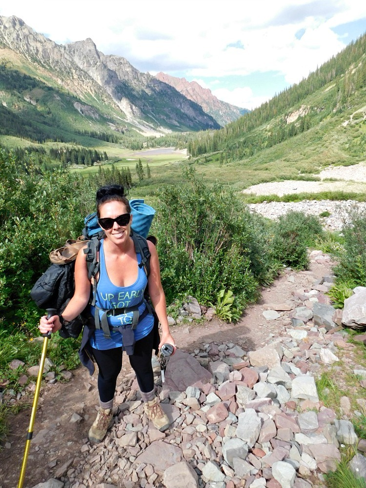 Hiking the West Maroon Trail in Maroon Bells Snowmass Wilderness during Month Twenty Six of Digital Nomad Life