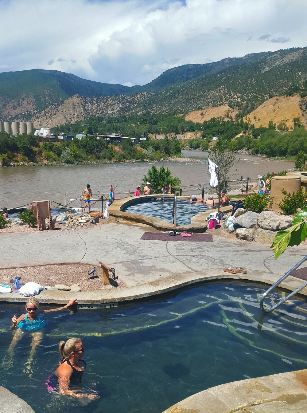 Iron Mountain Hot Springs in Glenwood Springs - visited during month twenty six of Digital Nomad Life