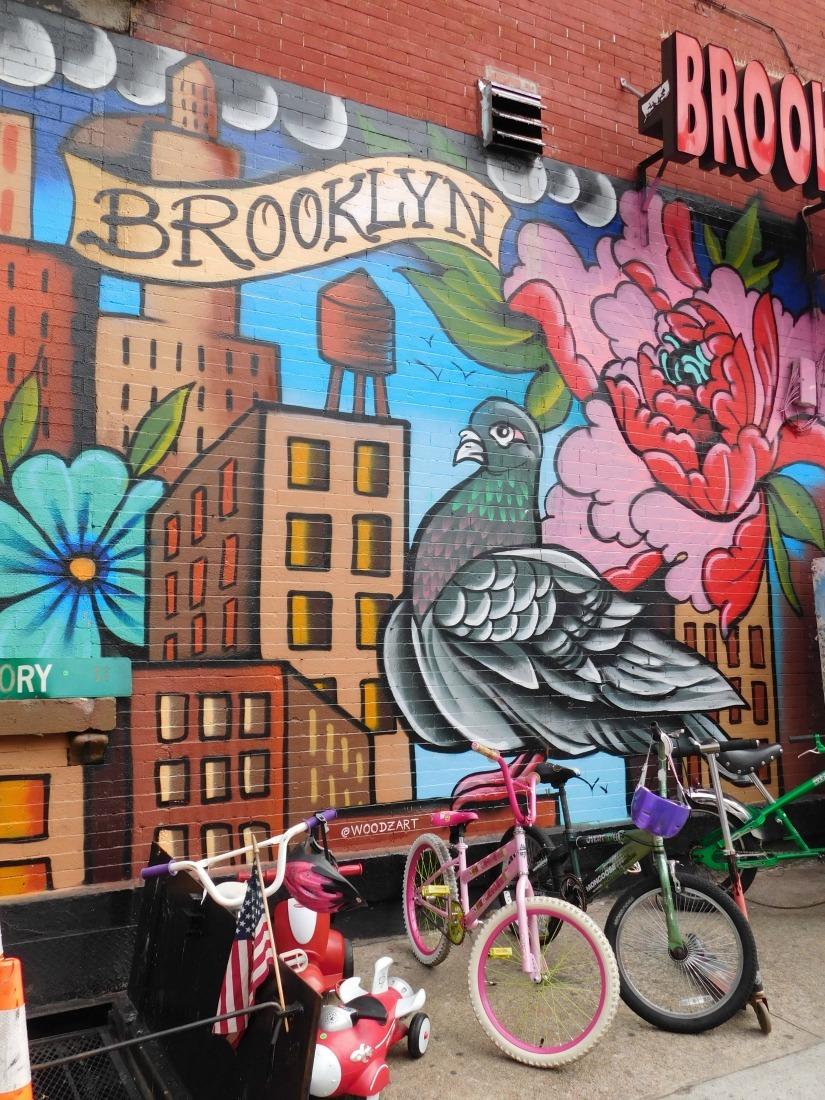 Street Art Tour in Bushwick Brooklyn - visited during Month Twenty Six of Digital Nomad Life