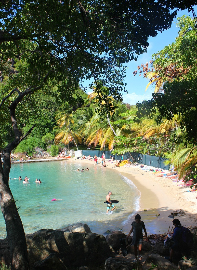 Beautiful beach on Les Saintes: The French Caribbean Islands that time forgot