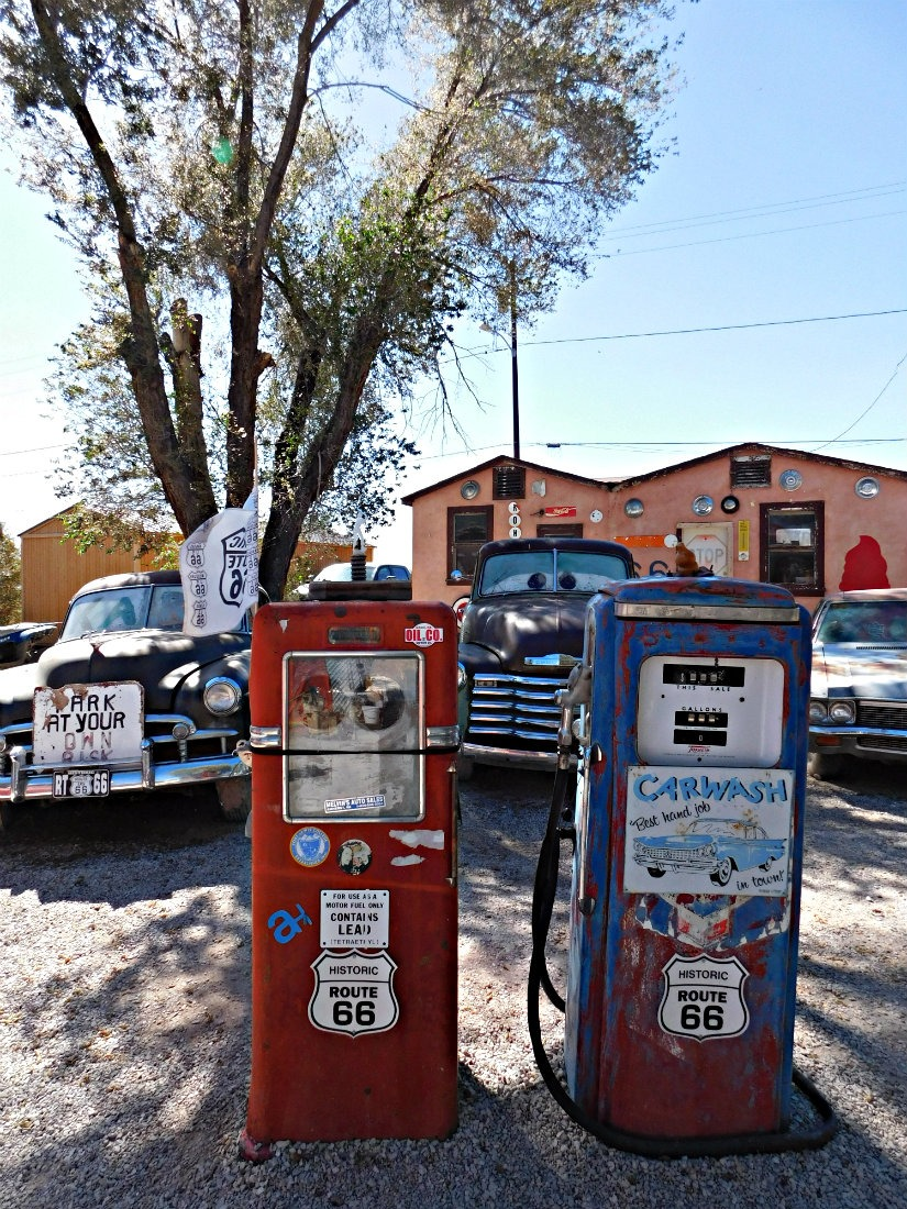 Driving Route 66 in Arizona during Month Twenty Eight of Digital Nomad Life