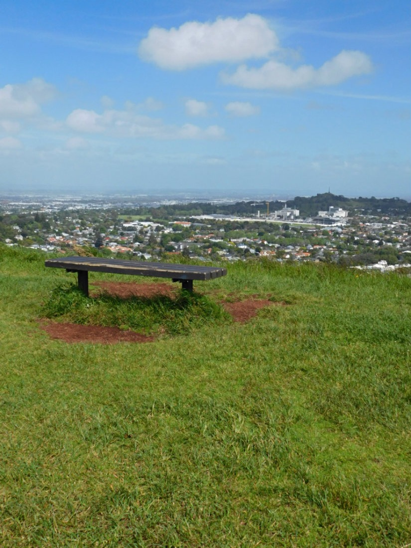 Hiking Mt Eden in Auckland during month twenty nine of Digital Nomad Life