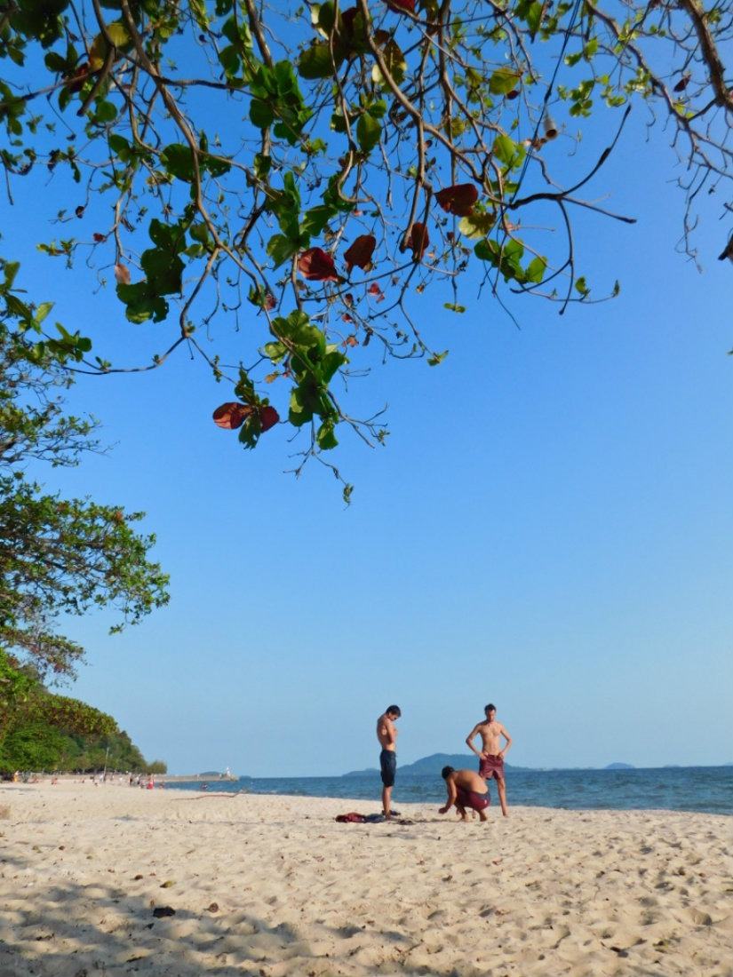 Beach time in Kep, Cambodia during month thirty two and thirty three of Digital Nomad Life