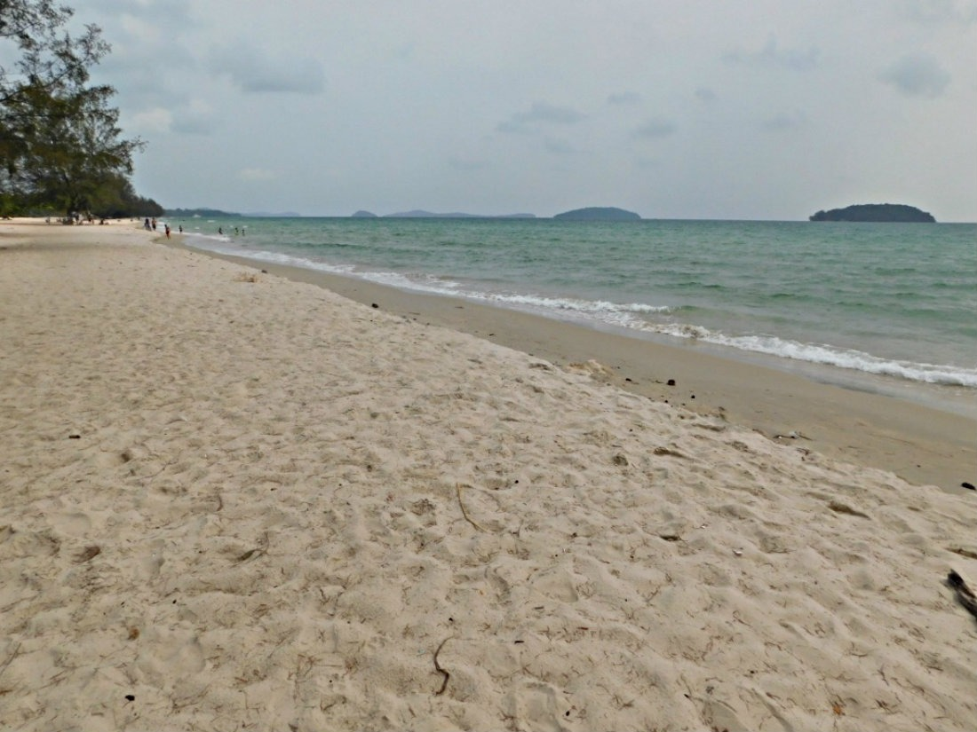 Otres Beach in Cambodia - a highlight of month thirty four of Digital Nomad Life