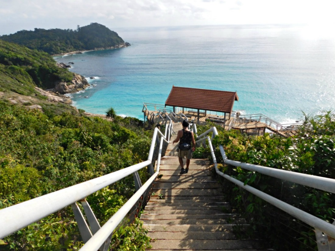 Hiking the Lookout on Perhentian Kecil