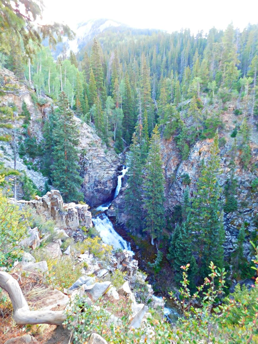 Judd Falls - the beginning of the East Maroon Pass hike from Crested Butte to Aspen