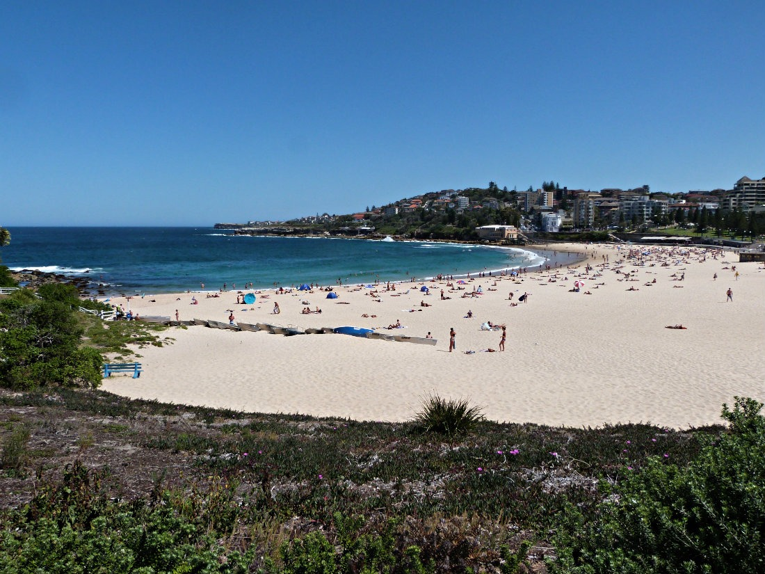 Chilling on Coogee beach is a quintessential Sydney experience