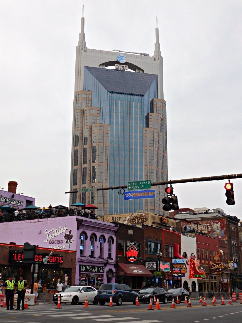 Checking out Broadway in Nashville during month thirty eight of Digital Nomad Life