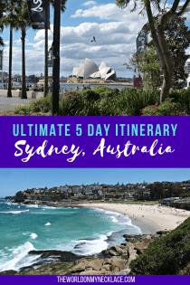 Sydney Itinerary: 5 Days in Australia's biggest city