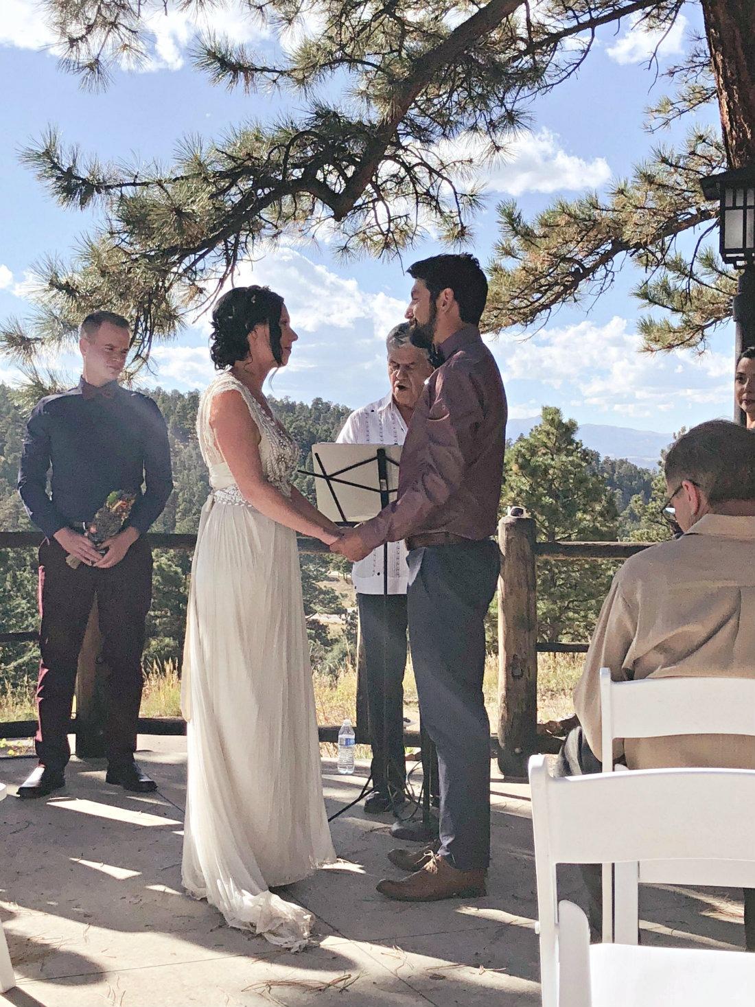 Wedding Day at Chief Hosa Lodge in Colorado