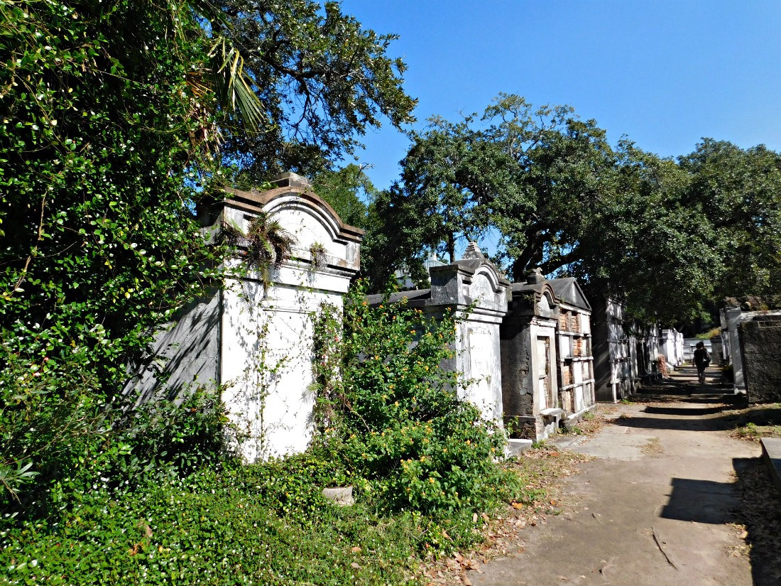 Lafayette Cemetery in the Garden District, New Orleans