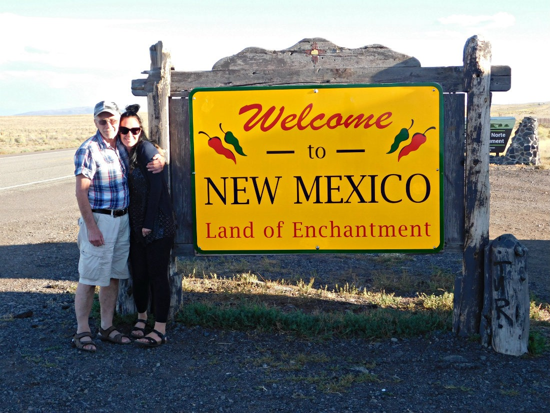 Arriving in New Mexico