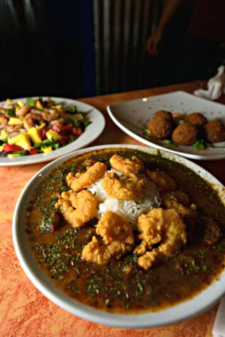 Gumbo at Chef Ron's Gumbo Stop in Metairie is a Louisiana food highlight