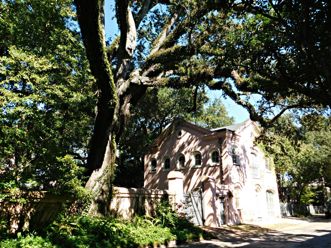 Historic home in the Garden District of New Orleans