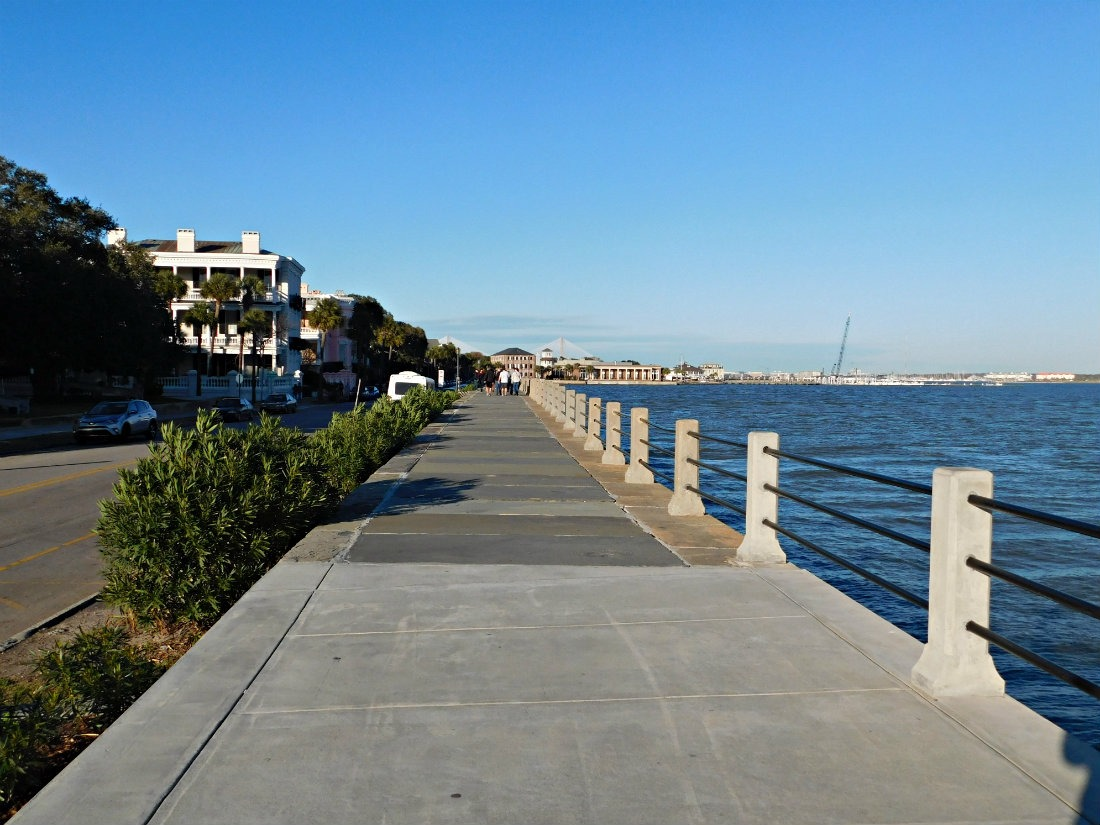 Walking the Battery in Charleston during month forty two of Digital Nomad Life