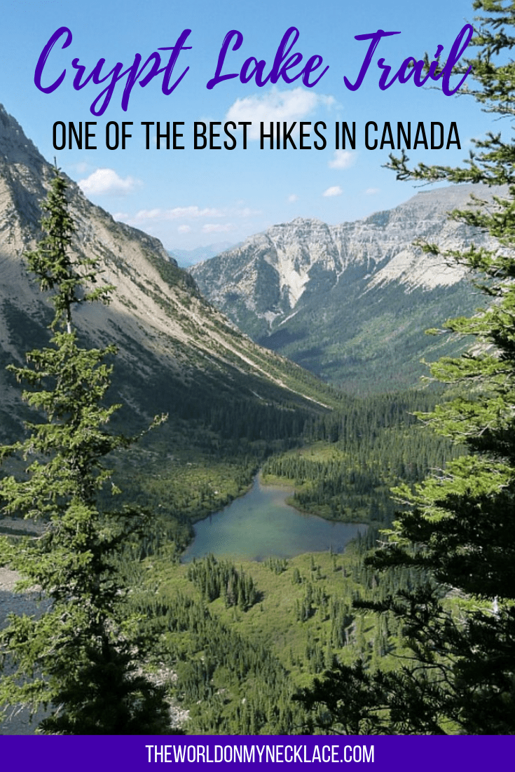 Crypt Lake Trail: One of the Best Hikes in Canada