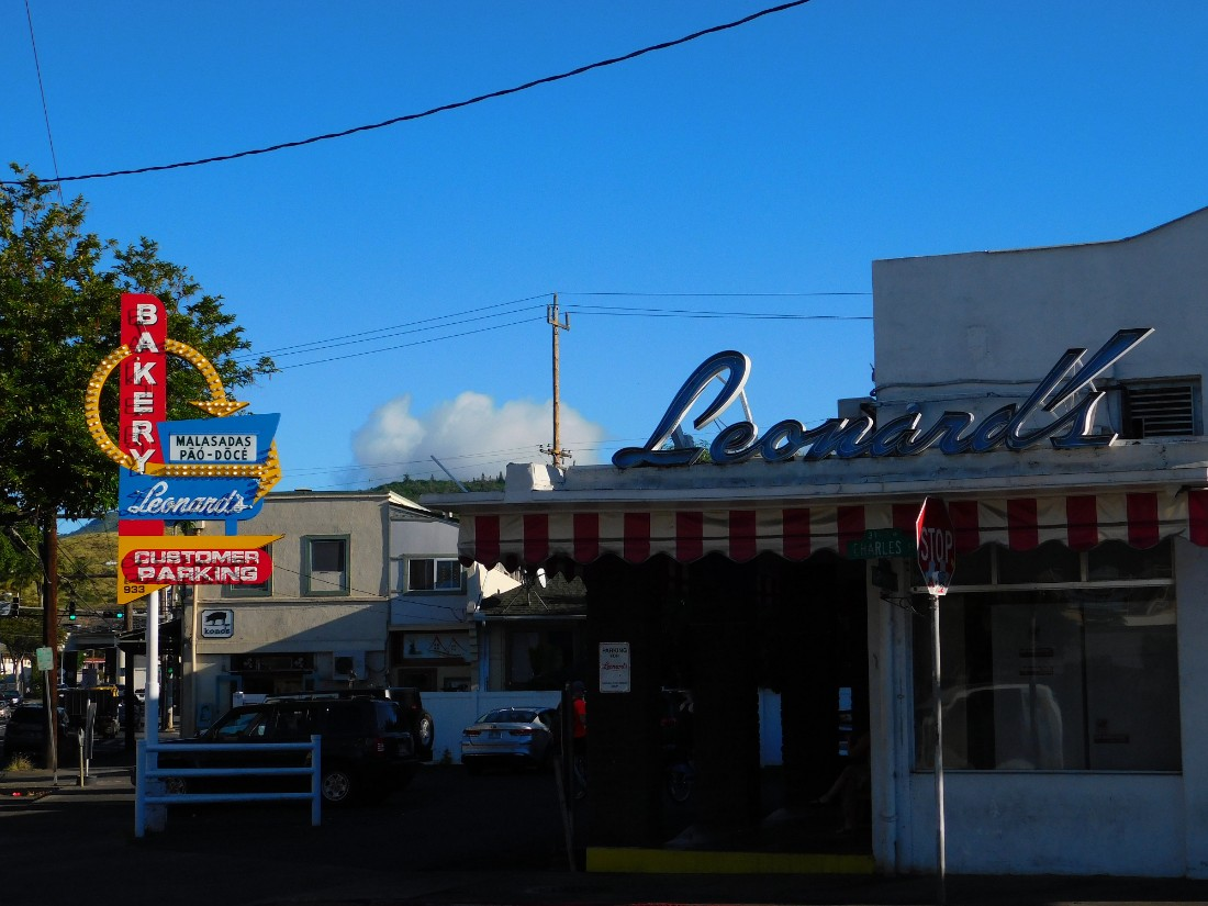 Leonard's Bakery in Honolulu Hawaii