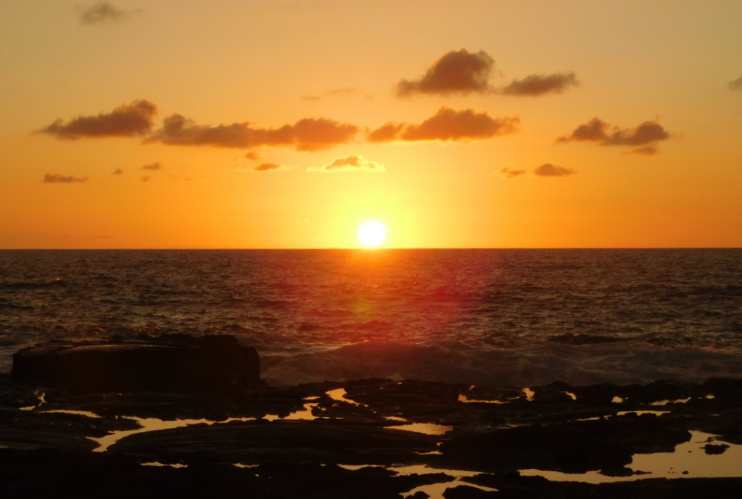 Sunset at Ho'okena on the Big Island of Hawaii