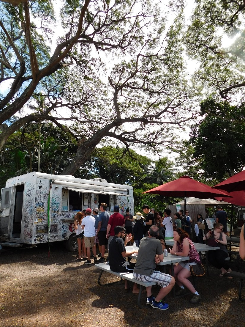 Giovanni Shrimp Truck on the North Shore of Oahu