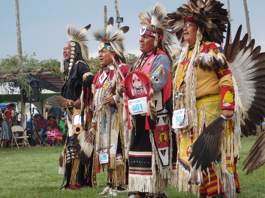 Amazing performances at Taos Pueblo Pow Wow in Northern New Mexico