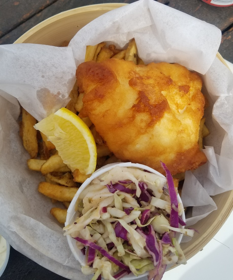 Fish and Chips in Vancouver