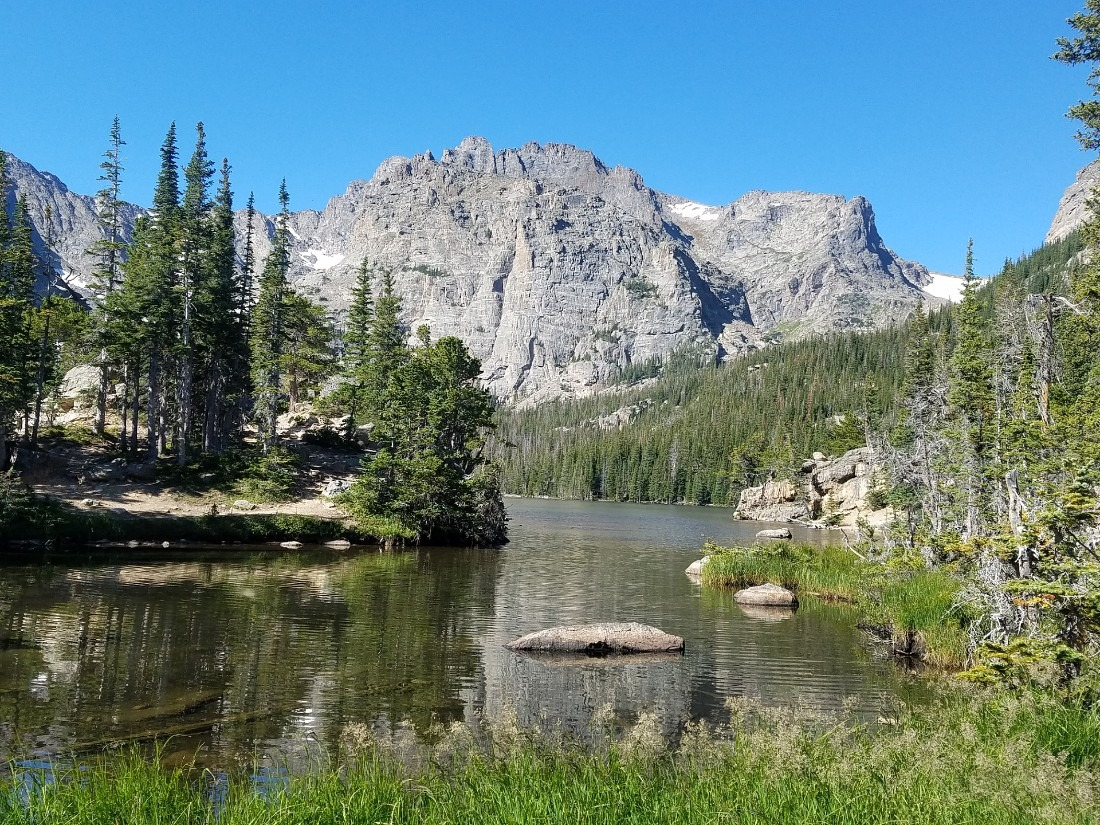 Hiking to Sky Pond in Rocky Mountain National Park