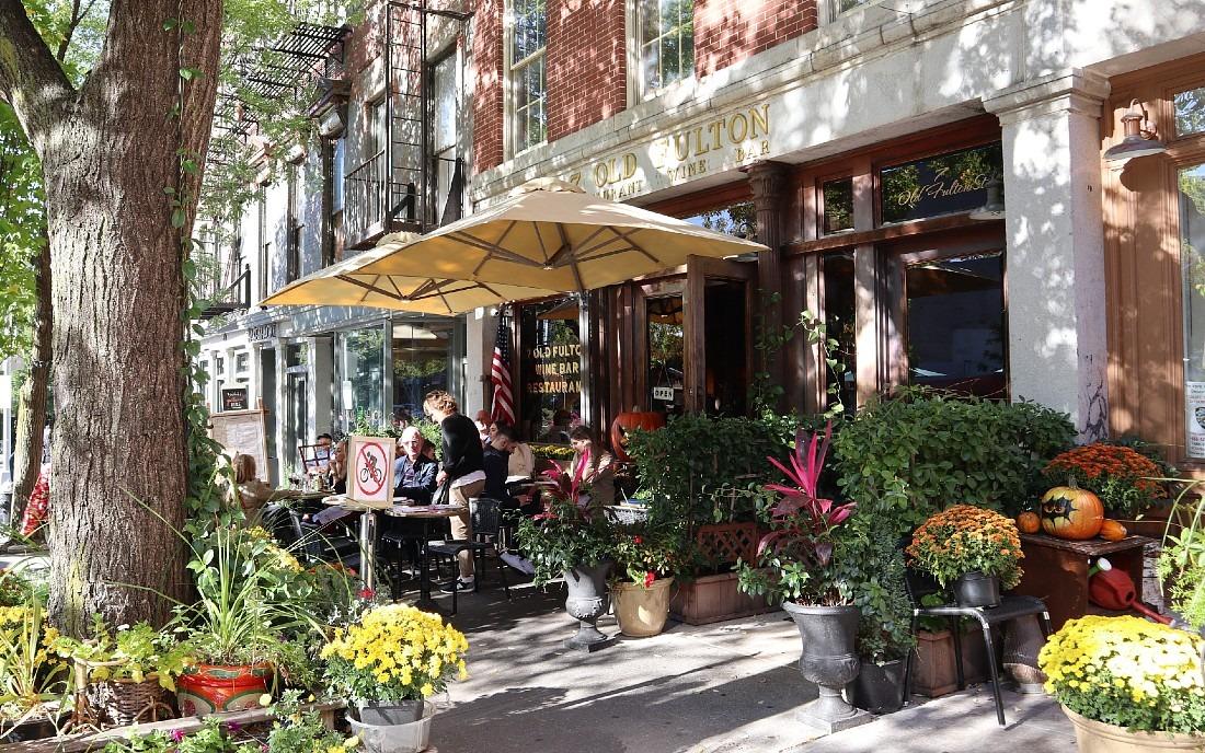 Cafe in Brooklyn, New York City
