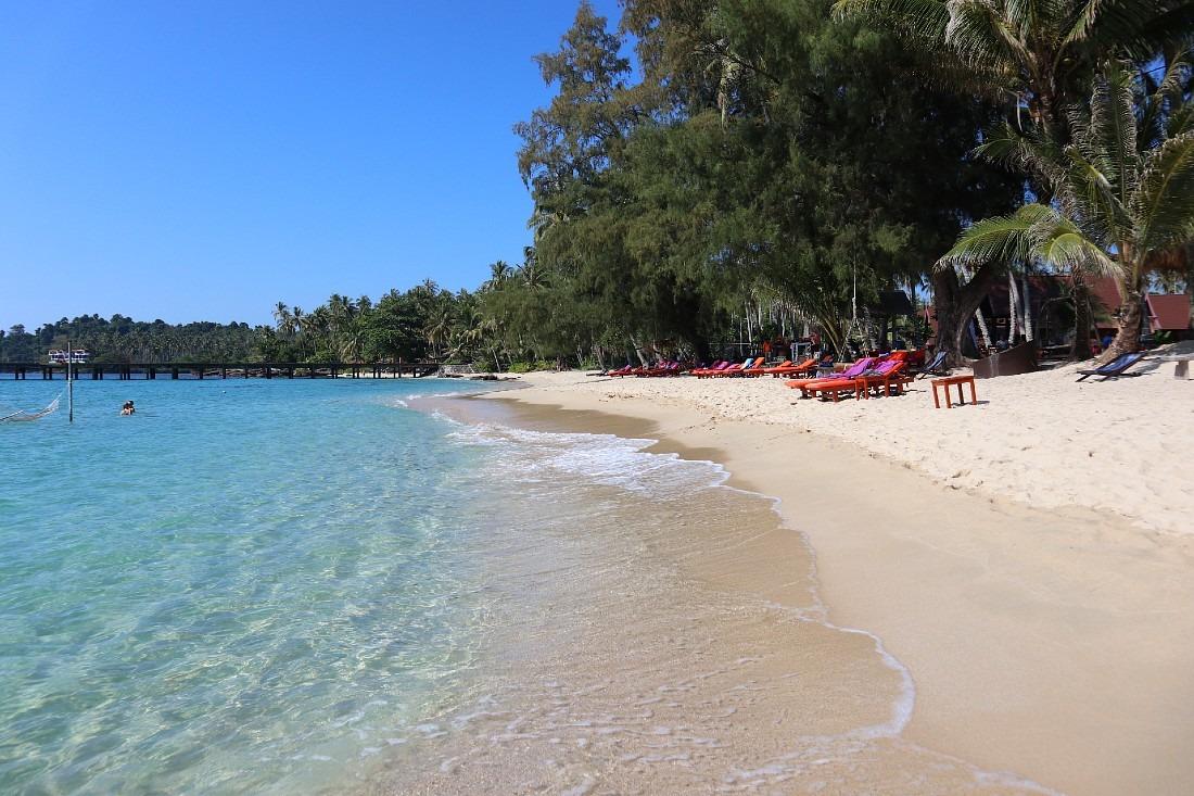 Beautiful beach on Koh Kood