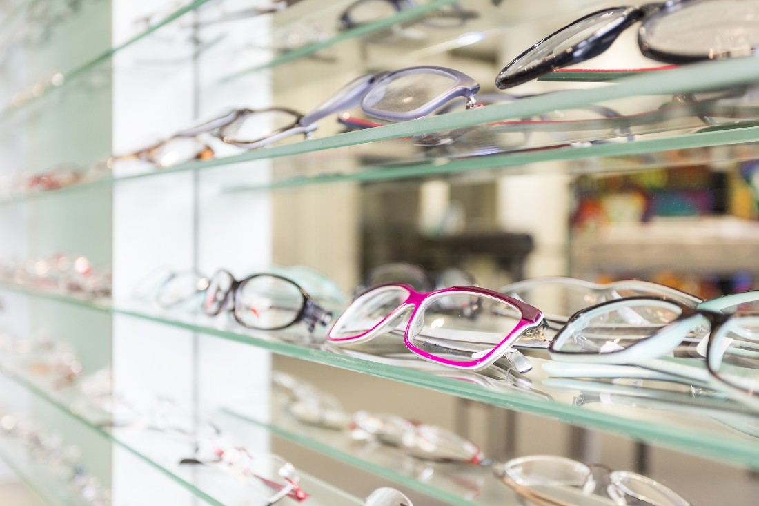 Wear sturdy glasses
