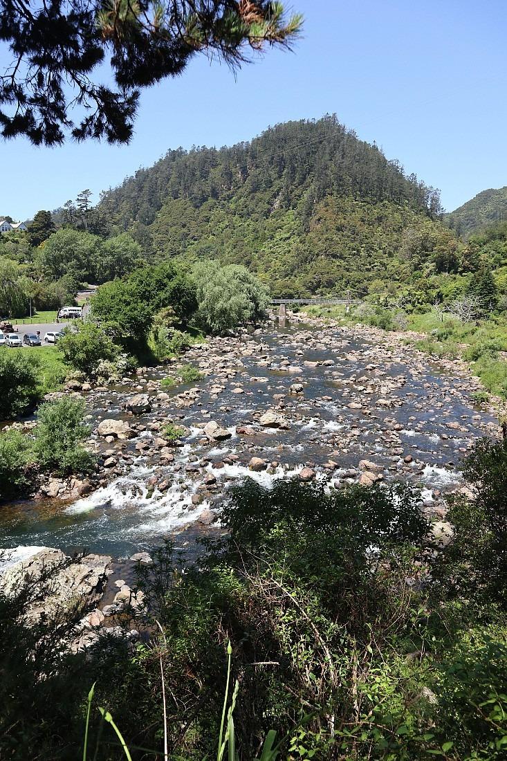 Karangahake Gorge in New Zealand
