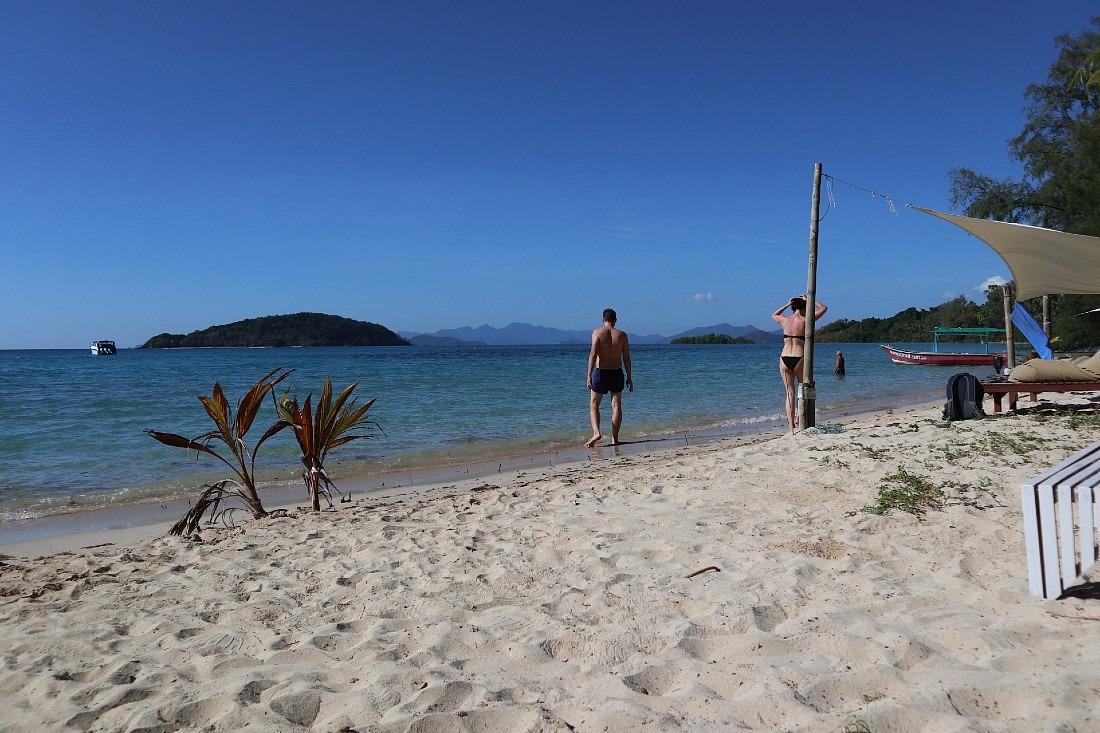Beach on Koh Mak in Thailand