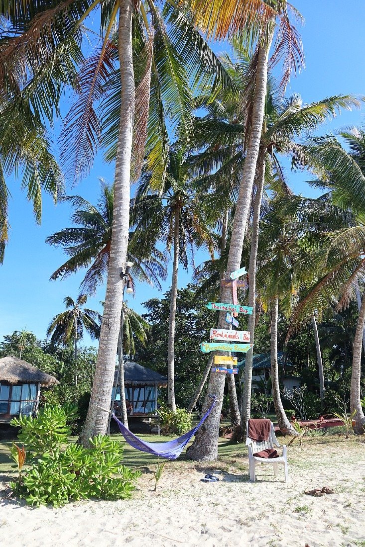 Koh Mak beach sign
