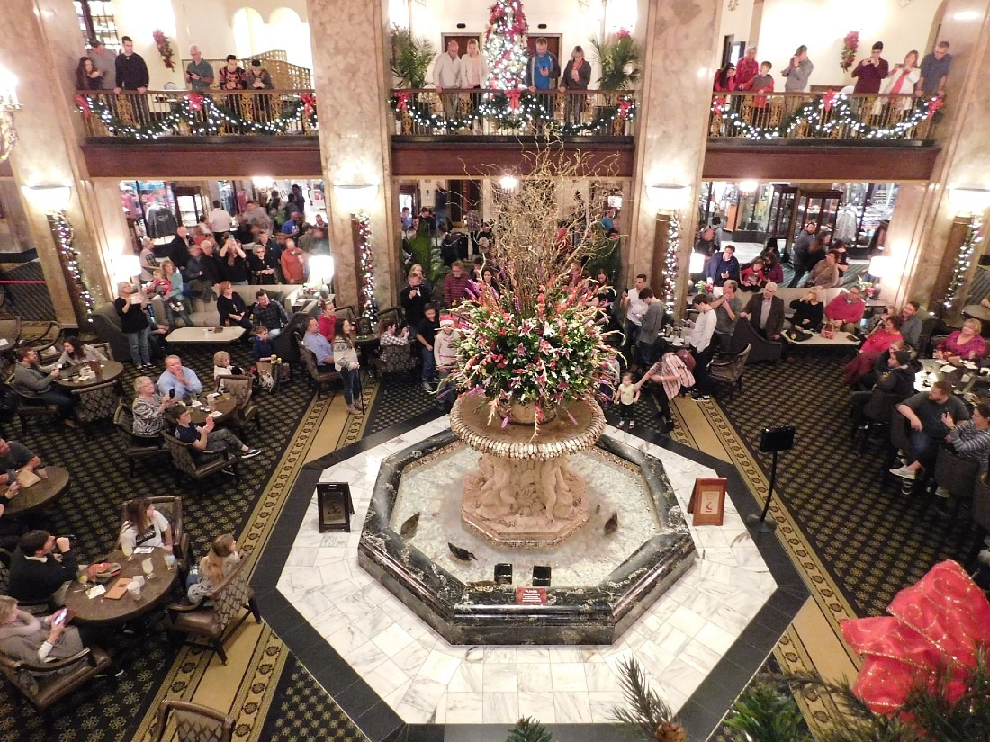 Add the Peabody Hotel Duck March to your things to do in Memphis