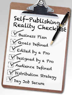 Image result for self publishing checklist