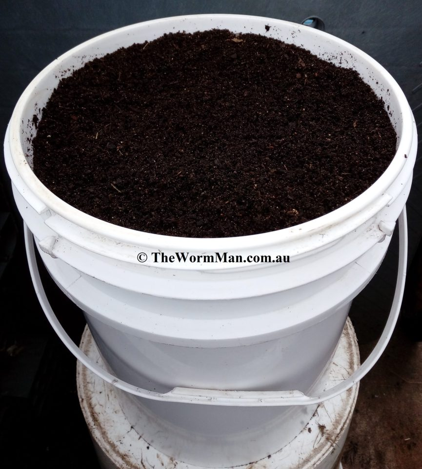Worm Castings Or Vermicompost From Worm Farms