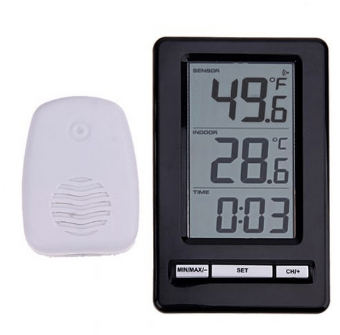 Wireless Thermometer for worm farms