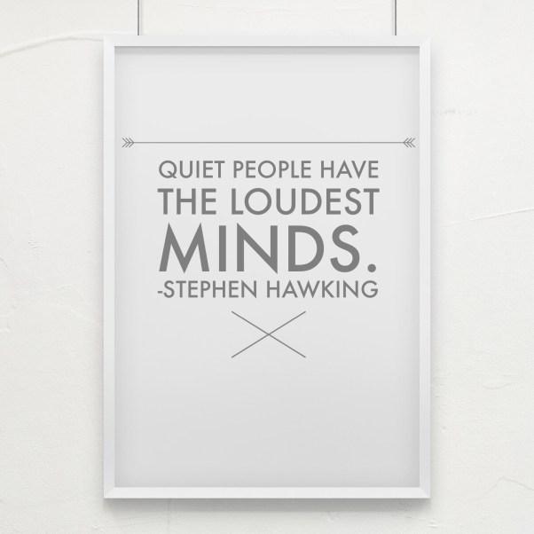 Quiet People Loud Minds