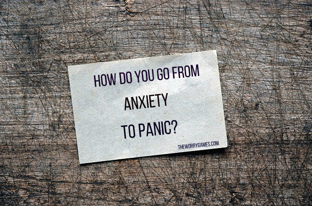 anxiety to panic