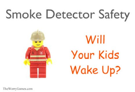 Smoke Detector Kids Anxiety