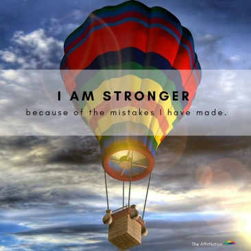 Stronger because of mistakes