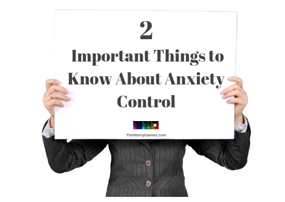 Anxiety Control help