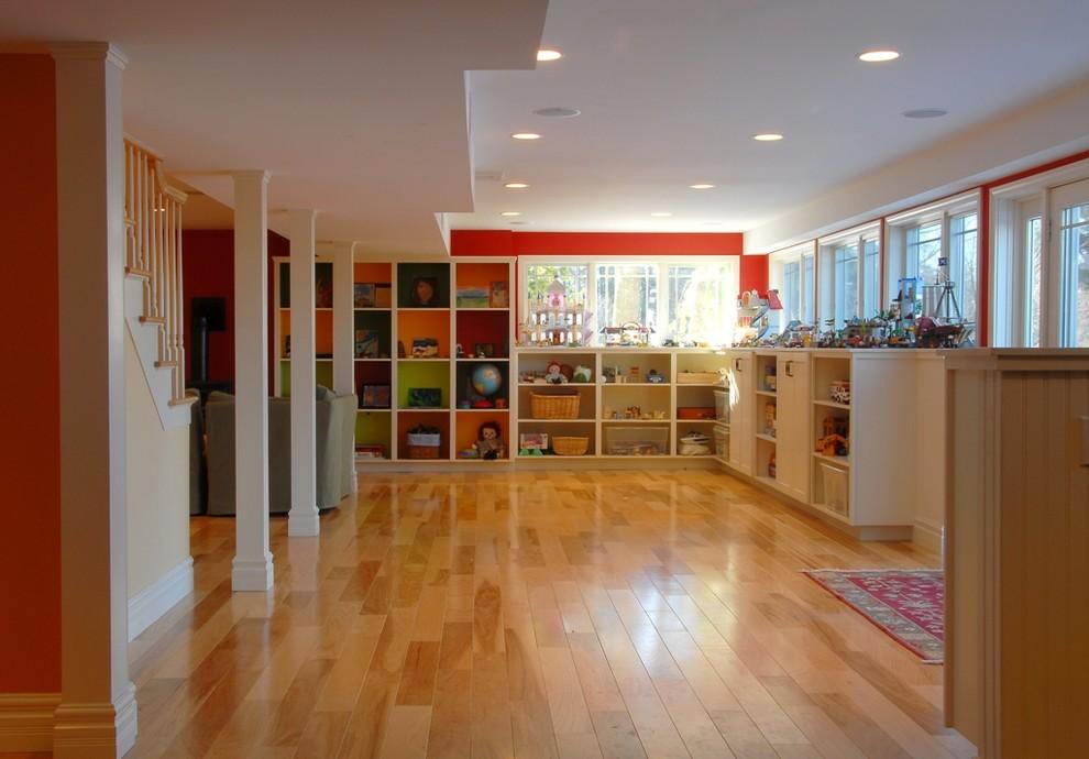 15 Incredible Farmhouse Basement Design