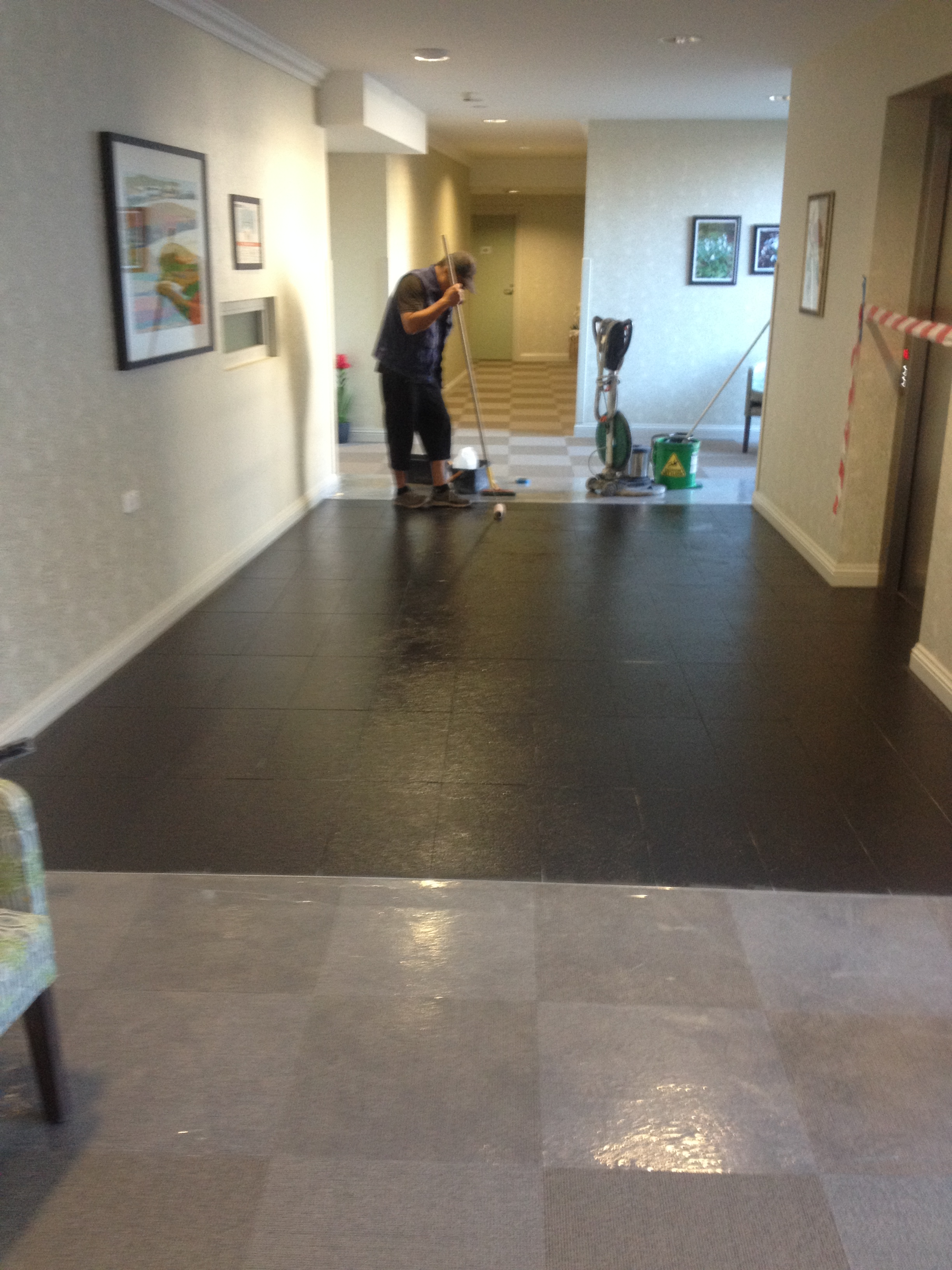 The Brighton - Grout Haze Removal - The Wow FX Wall and