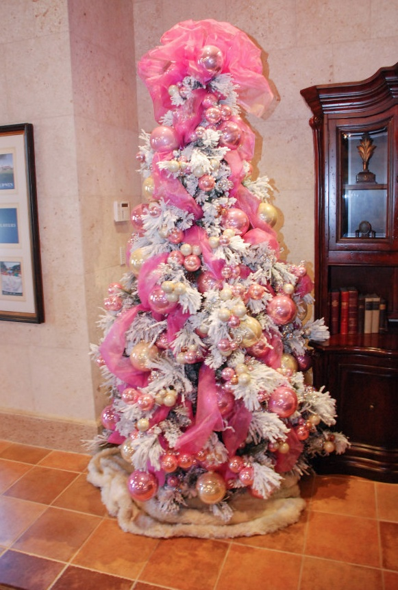 Decorations Christmas Pink